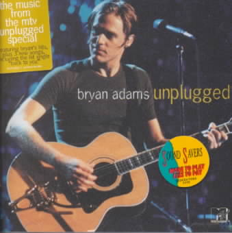 MTV UNPLUGGED BY ADAMS,BRYAN (CD)